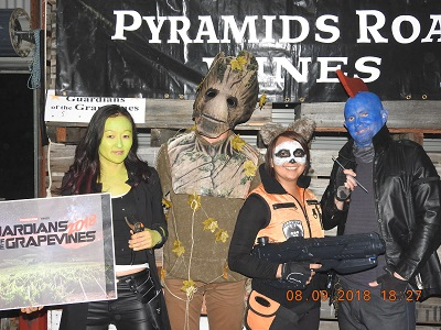Guardians of the Grapevines (Best Team Costume)