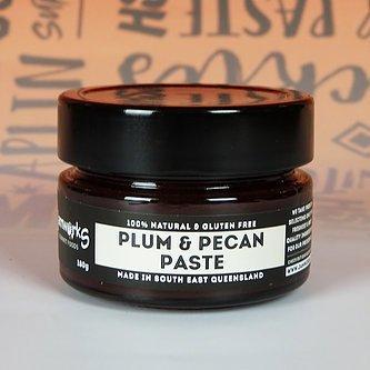 plum and pecan paste