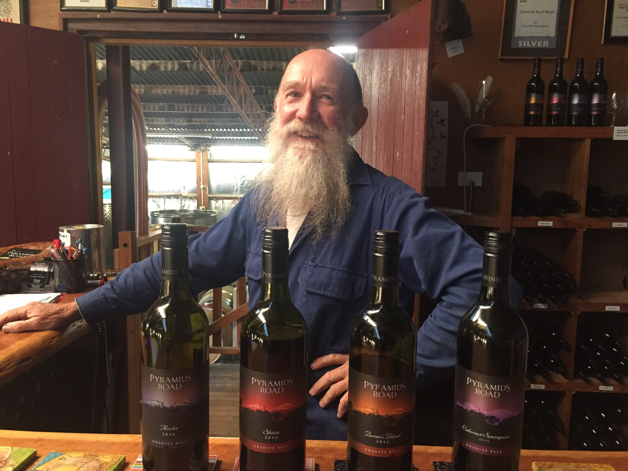 meet the winemaker at Pyramids Road Wines